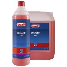 G460 Buzil Bucalex, 1л pH0.5 Для генеральной уборки санузлов. От мочевого камня, ржавчины и др. сильных загрязнений