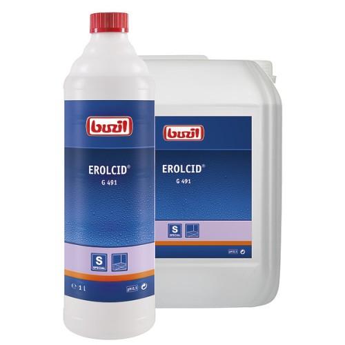 G491 Erolcid, 1л ph 0.5 Послестроительная уборка керамогранита и кафельной плитки