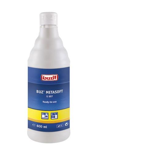 G507 Buz Metasoft, 600мл, pH3 Готовое средство для очистки  нержавеющей стали, стеклокерамики